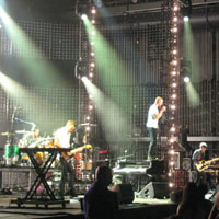 The Fray performs in Kansas City. Photo by Rebekah Scaperlanda