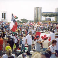 World Youth Day in Toronto.